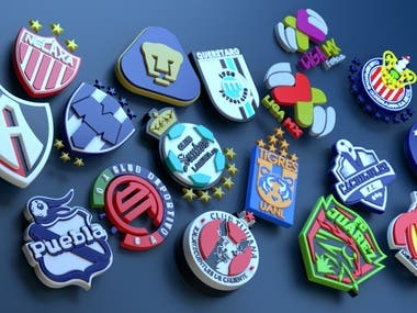 Mexican Team Logos