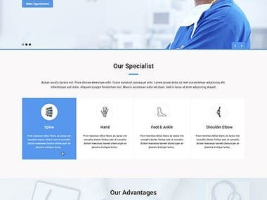 Hospital Website using MERN