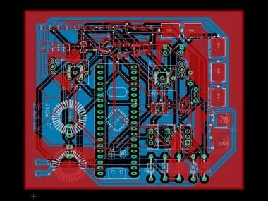 Custom STM32 Development Board
