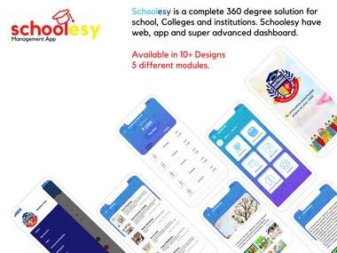 Schoolesy - React Native - School Management App