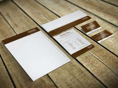 The St James Hotel Corporate Stationery