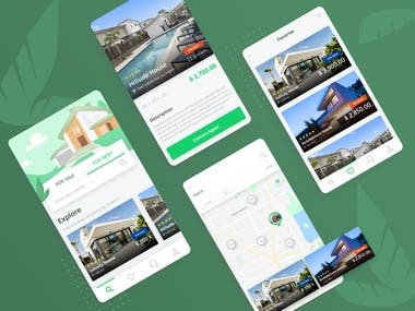 Real estate search app