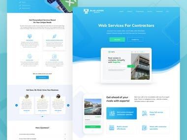 Web service Website
