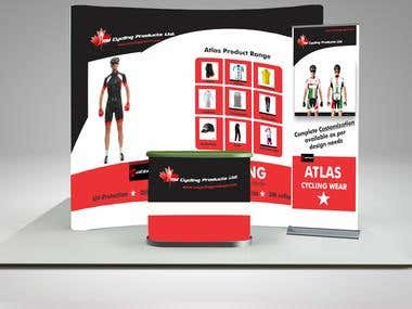 Trade show design for Atlas - RMCPL