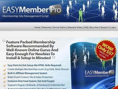 Easy Member Pro membership software