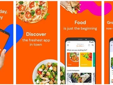 Grocery & Food Delivery app