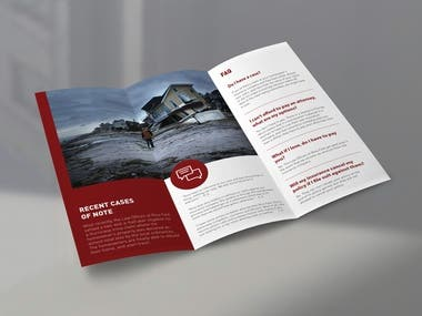 3-fold brochure design