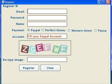 MEGA Typer Entry Operator