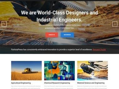 Factory Website