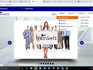 reinsoft.tech ( PHP website )