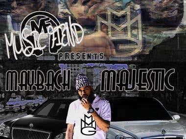 """Maybach Majestic"" Mixtape Cover"