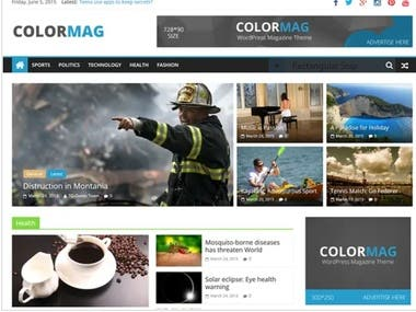ColorMag By ThemeGrill