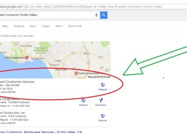 Local Map SEO Expert   1st Place Local Business