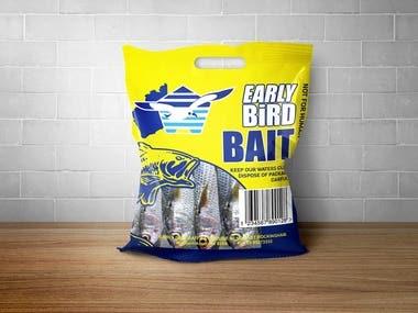 EarlyBird Bait Packaging Design