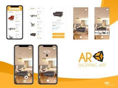 AR-Shopping App