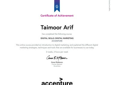 Certification For digital Market