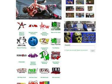 SM Video On Demand Website