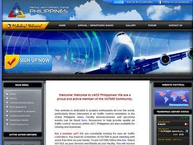 vACC Philippines - Website