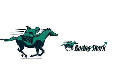 "Logo design for ""racing shark"""