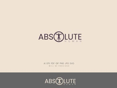 A logo for Absolute Human Company