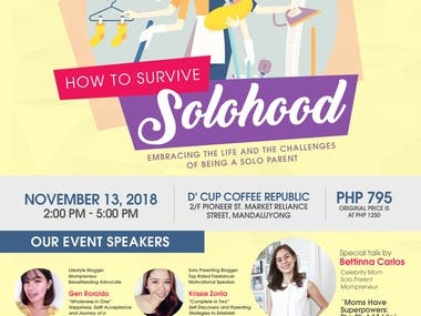 Surviving Solohood Local Event Poster