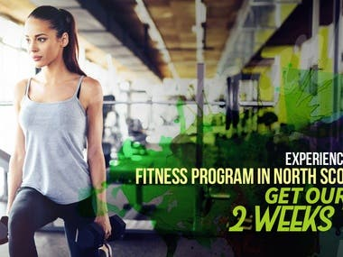 Fitness/Gym Facebook Ad Design