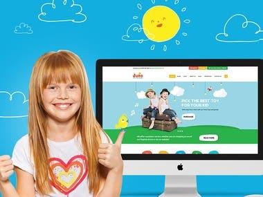 Website Design for Kids