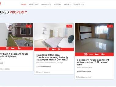 Real Estate Website[ http://www.pdbglobal.com/]