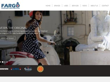 WordPress - Scooter Ecommerce