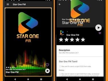 simple android radio