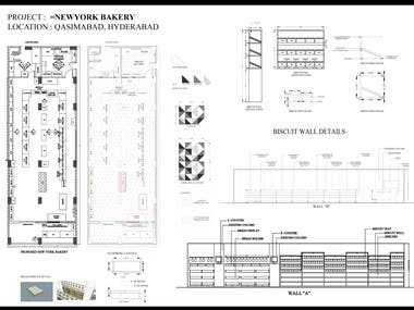 Bakery detail drawing