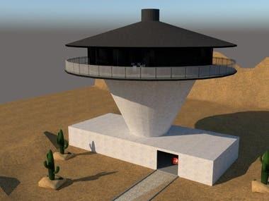 A Spaceship House