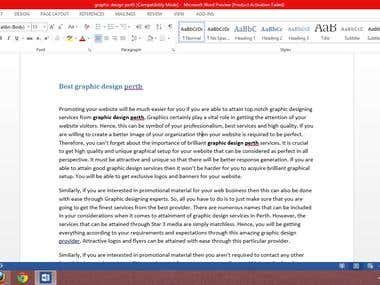 SEO Article Writing