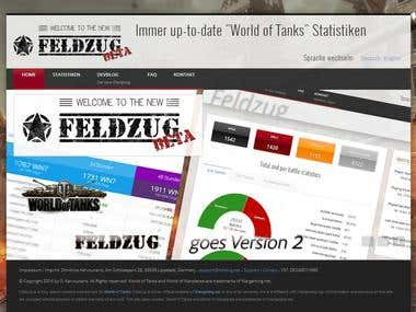 Feldzug - World of Tanks gamer statistics