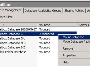 Microsoft Exchange 2010 troubleshooting and migration