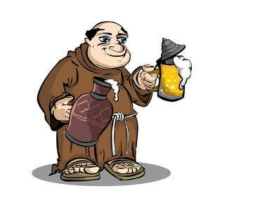 Illustration's a  Monk Brewer 01 and 02
