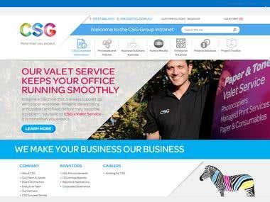 CSG Intranet Portal
