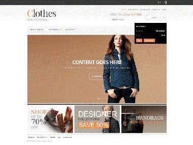 eCommerce-fashionCare Portal