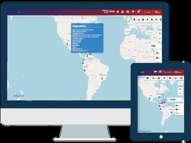 App Web - GPS Seelight
