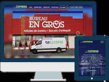 Sitio Web - HaXpress