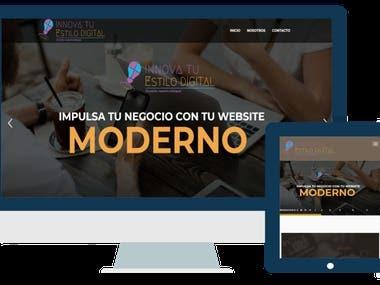 Sitio Web - Innova tu Estilo