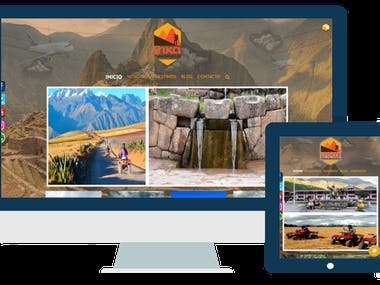 Sitio Web - Inka Planet Adventure