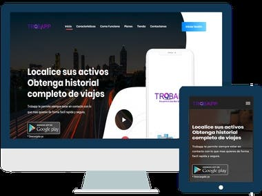Sitio Web - Trobapp