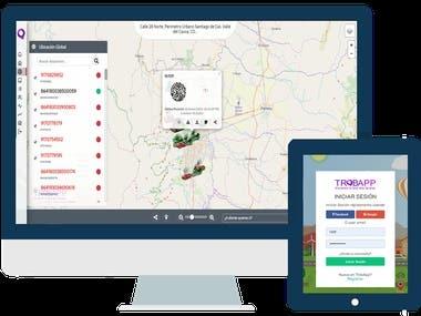 App Web de GPS - Trobapp