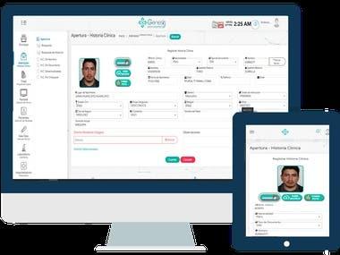 App Web - Sistema Hospitalario - Genesis