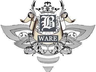 A corporate apparel company logo