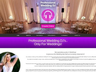 professionalweddingdj.co.uk
