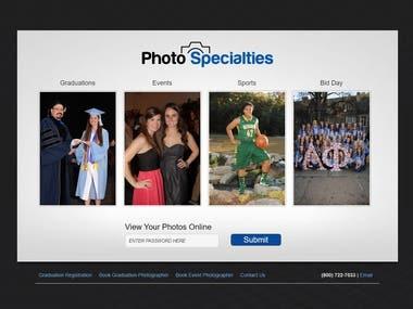 Graduation Photo Management Service