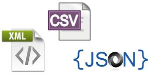 JSON & CSV