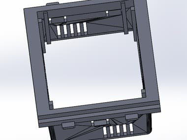 Touch Fan Regulator CAD design